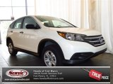 2013 White Diamond Pearl Honda CR-V LX #82160893