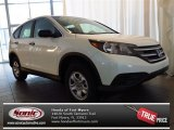 2013 White Diamond Pearl Honda CR-V LX #82160892
