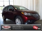 2013 Basque Red Pearl II Honda CR-V EX-L #82160891