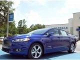 2013 Deep Impact Blue Metallic Ford Fusion Hybrid SE #82161002