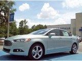 2013 Ice Storm Metallic Ford Fusion Hybrid SE #82161001