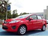 2013 Race Red Ford Fiesta SE Sedan #82161000