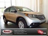 2013 Alabaster Silver Metallic Honda CR-V EX-L #82160886