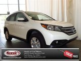 2013 White Diamond Pearl Honda CR-V EX-L #82160884