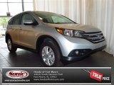 2013 Alabaster Silver Metallic Honda CR-V EX #82160878