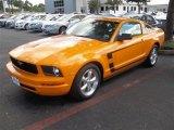 2007 Grabber Orange Ford Mustang V6 Premium Coupe #82160986