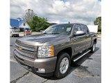 2013 Mocha Steel Metallic Chevrolet Silverado 1500 LTZ Crew Cab 4x4 #82161400