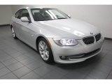 2012 Titanium Silver Metallic BMW 3 Series 328i Coupe #82161312