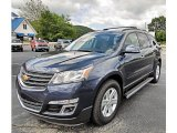 2013 Atlantis Blue Metallic Chevrolet Traverse LT AWD #82161399