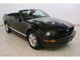 2007 Black Ford Mustang V6 Deluxe Convertible #82161390