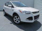 2013 White Platinum Metallic Tri-Coat Ford Escape SE 1.6L EcoBoost #82161189