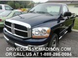 2006 Patriot Blue Pearl Dodge Ram 1500 SLT Regular Cab 4x4 #82161380
