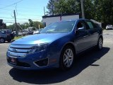 2010 Sport Blue Metallic Ford Fusion SEL #82161580