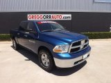 2011 Deep Water Blue Pearl Dodge Ram 1500 SLT Crew Cab 4x4 #82161289