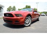 2014 Ruby Red Ford Mustang V6 Premium Convertible #82161366