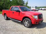 2010 Vermillion Red Ford F150 STX SuperCab 4x4 #82161138