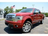 2013 Ruby Red Metallic Ford F150 Platinum SuperCrew 4x4 #82215853