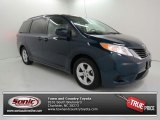 2011 South Pacific Blue Pearl Toyota Sienna LE #82215846