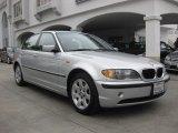 2004 Titanium Silver Metallic BMW 3 Series 325i Sedan #82215515
