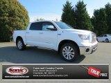 2013 Super White Toyota Tundra Platinum CrewMax 4x4 #82215841