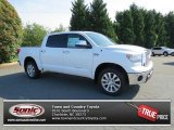 2013 Super White Toyota Tundra Platinum CrewMax 4x4 #82215840