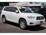2010 Blizzard White Pearl Toyota Highlander V6 4WD #82215614