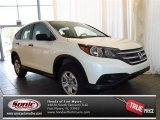 2013 White Diamond Pearl Honda CR-V LX #82215293