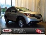 2013 Alabaster Silver Metallic Honda CR-V EX-L AWD #82215286