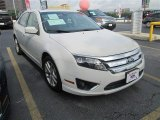 2011 White Suede Ford Fusion SEL #82215388