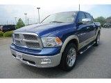 2011 Deep Water Blue Pearl Dodge Ram 1500 Laramie Crew Cab 4x4 #82215939