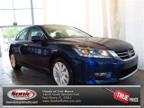 2013 Obsidian Blue Pearl Honda Accord EX-L Sedan #82215279