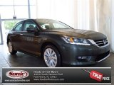 2013 Hematite Metallic Honda Accord EX-L V6 Sedan #82215272