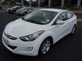 2013 Shimmering White Hyundai Elantra GLS #82215373