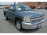 2013 Blue Granite Metallic Chevrolet Silverado 1500 LS Regular Cab #82215926
