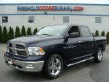 2012 True Blue Pearl Dodge Ram 1500 Big Horn Crew Cab 4x4 #82215993