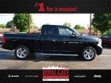 2012 Black Dodge Ram 1500 Sport Quad Cab 4x4 #82215342