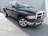 2003 Black Dodge Ram 1500 SLT Quad Cab #82215658