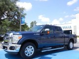 2013 Blue Jeans Metallic Ford F250 Super Duty XLT Crew Cab #82215424