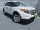 2013 White Platinum Tri-Coat Ford Explorer XLT #82215654