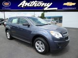 2013 Atlantis Blue Metallic Chevrolet Equinox LS AWD #82269860