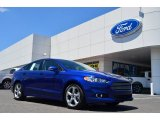 2013 Deep Impact Blue Metallic Ford Fusion SE 2.0 EcoBoost #82269439