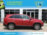 2011 Spicy Red Kia Sorento EX #82269315