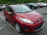 2013 Ruby Red Ford Fiesta SE Hatchback #82269411
