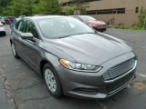 2013 Sterling Gray Metallic Ford Fusion S #82269410