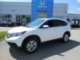2013 White Diamond Pearl Honda CR-V EX-L AWD #82269726