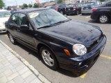 2002 Subaru Impreza 2.5 RS Sedan Front 3/4 View