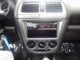 2002 Subaru Impreza 2.5 RS Sedan Controls