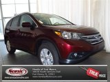 2013 Basque Red Pearl II Honda CR-V EX-L #82269187