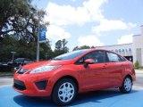 2013 Race Red Ford Fiesta SE Sedan #82269372