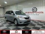 2012 Silver Sky Metallic Toyota Sienna LE #82269280